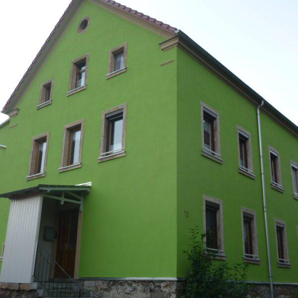Natěračské práce dům po rekonstrukci Brno