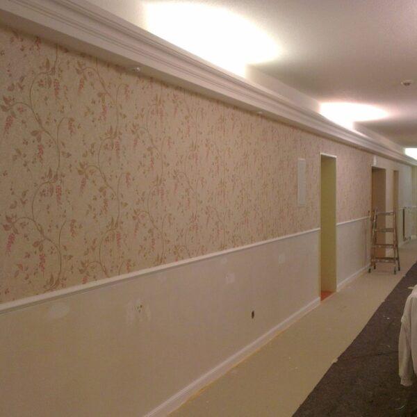 Výmalba interiéru dům s pečovatelskou službou Brno
