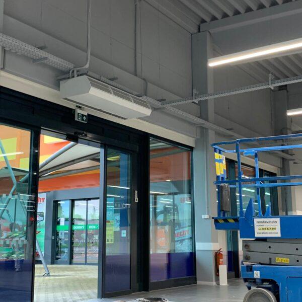 Výmalba obchodního domu Brno